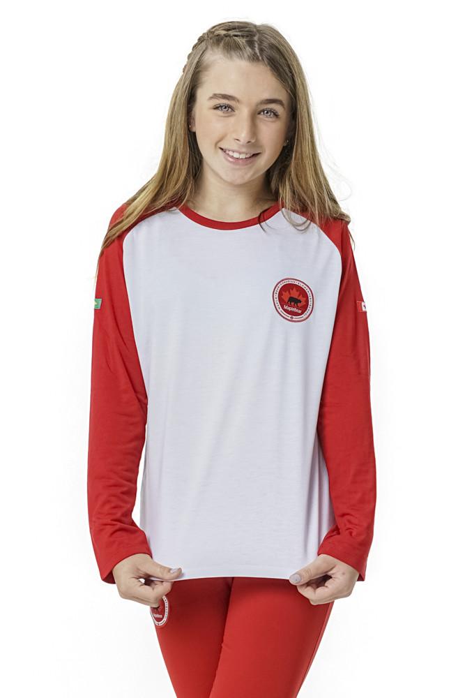 Camiseta Manga Longa Feminina - Fundamental